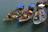 Fishing Boat in Nathon City, Koh Samui Island, Thailand, Southeast Asia, Asia Photographic Print by Richard Cummins