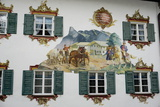 The Famous Painted Houses of Oberammergau, Bavaria, Germany, Europe Photographic Print by Robert Harding