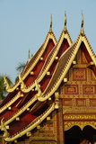 Wat Phra Singh, Chiang Mai, Thailand, Southeast Asia, Asia Photographic Print by Tuul