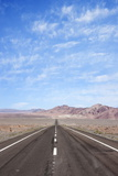 Open Road Paved Highway with No Traffic in Atacama Desert, Chile, South America Photographic Print by Kimberly Walker