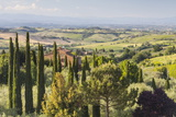 Scenery Near to Montepulciano, Val D'Orcia, UNESCO World Heritage Site, Tuscany, Italy, Europe Photographic Print by Julian Elliott