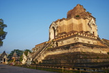 Wat Chedi Luang, Chiang Mai, Thailand, Southeast Asia, Asia Photographic Print by Tuul
