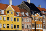 Old Buildings in Famous Nyhavn Harbour Area of Copenhagen, Denmark, Scandinavia, Europe Photographic Print by Simon Montgomery