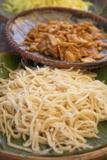 Rice Noodles, Hoi An, Quang Nam, Vietnam, Indochina, Southeast Asia, Asia Photographic Print by Ian Trower