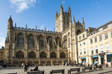 Bath Abbey, Bath, UNESCO World Heritage Site, Avon and Somerset, England, United Kingdom, Europe Photographic Print by Matthew Williams-Ellis