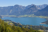 Elevated View over St. Wolfgang, Wolfgangsee Lake, Flachgau Photographic Print by Doug Pearson