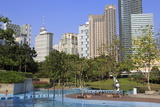 Klcc Park, Kuala Lumpur, Malaysia, Southeast Asia, Asia Photographic Print by Richard Cummins