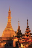 Sule Pagoda, Yangon (Rangoon), Myanmar (Burma), Asia Photographic Print by Richard Cummins