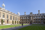 The Courtyard, Clare College, Cambridge, Cambridgeshire, England, United Kingdom, Europe Photographic Print by Charlie Harding