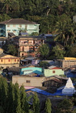 Houses in Port Blair, Andaman Islands, India, Asia Photographic Print by Richard Cummins