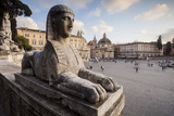Piazza Del Popolo in Rome, Lazio, Italy, Europe Photographic Print by Julian Elliott