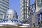 Syakirin Mosque, Kuala Lumpur, Malaysia, Southeast Asia, Asia Photographic Print by Richard Cummins