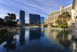 Morning Reflections in Bellagio Lake, Las Vegas, Nevada, United States of America, North America Photographic Print by Eleanor Scriven