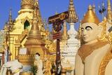 Shwedagon Pagoda, Yangon (Rangoon), Myanmar (Burma), Asia Photographic Print by Richard Cummins
