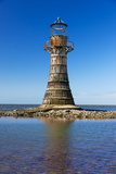 Whiteford Lighthouse, Whiteford Sands, Gower, Wales, United Kingdom, Europe Photographic Print by Billy Stock
