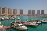 Harbour and Architecture, the Pearl, Doha, Qatar, Middle East Photographic Print by Frank Fell