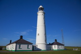 Nash Point Lighthouse, Vale of Glamorgan, Wales, United Kingdom, Europe Photographic Print by Billy Stock