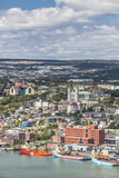 St. Johns Harbour and Downtown Area, St. John'S, Newfoundland, Canada, North America Photographic Print by Michael Nolan