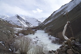 Frozen River, Rumbak Valley, Hemis National Park, Ladakh, India, Asia Photographic Print by Peter Barritt