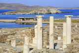 Delos Archaeological Ruins, Delos, Cyclades, Greek Islands, Greece, Europe Photographic Print by Richard Cummins