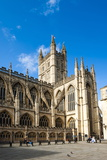Bath Abbey, Bath, UNESCO World Heritage Site, Avon and Somerset, England, United Kingdom, Europe Fotografisk trykk av Matthew Williams-Ellis