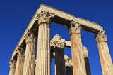 Standing Corinthian Columns, Early Morning, Temple of Olympian Zeus, Athens, Greece, Europe Photographic Print by Eleanor Scriven