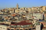 Galata Tower, Beyoglu District, Istanbul, Turkey, Europe Photographic Print by Richard Cummins