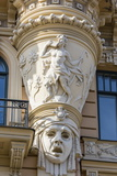 Art Nouveau Style Architecture Locally known as Jugendstil, Riga, Latvia, Europe Photographic Print by Michael Nolan