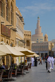 Restaurant and Islamic Culture Centre, Waqif Souq, Doha, Qatar, Middle East Photographic Print by Frank Fell