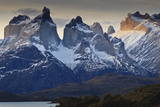 Cuernos Del Paine at Sunset, Torres Del Paine National Park, Patagonia, Chile, South America Photographic Print by Eleanor Scriven