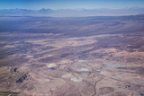 Aerial View of Mine in Atacama Desert in Northern Chile, South America Photographic Print by Kimberly Walker