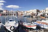 Old Venetian Harbour, Rethymno (Rethymnon), Crete, Greek Islands, Greece, Europe Photographic Print by Markus Lange