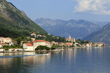 Village, Bay of Kotor, UNESCO World Heritage Site, Montenegro, Europe Photographic Print by Eleanor Scriven