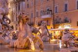 Piazza Navona in Rome, Lazio, Italy, Europe Photographic Print by Julian Elliott