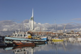 Spinnaker Tower and Camber Docks, Portsmouth, Hampshire, England, United Kingdom, Europe Photographic Print by Jean Brooks