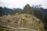 Machu Picchu, UNESCO World Heritage Site, Peru, South America Fotodruck von Yadid Levy