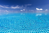 Infinity Pool, Maldives, Indian Ocean, Asia Photographic Print by Sakis Papadopoulos