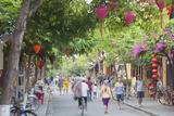 Street Scene, Hoi An, Quang Nam, Vietnam, Indochina, Southeast Asia, Asia Photographic Print by Ian Trower