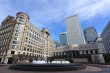 Cabot Square, Canary Wharf, Docklands, London, England, United Kingdom, Europe Photographic Print by Charlie Harding