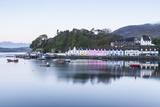 Portree Harbour on the Isle of Skye, Inner Hebrides, Scotland, United Kingdom, Europe Photographic Print by Julian Elliott
