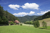 Black Forest House, Gutachtal Valley, Black Forest, Baden Wurttemberg, Germany, Europe Photographic Print by Markus Lange