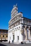 San Michele Church, Lucca, Tuscany, Italy, Europe Photographic Print by Peter Groenendijk