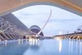 The City of Arts and Sciences (Ciudad De Las Artes Y Las Ciencias) in Valencia, Spain, Europe Photographic Print by Julian Elliott