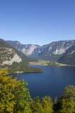 Elevated View over Picturesque Hallstattersee, Oberosterreich (Upper Austria), Austria, Europe Photographic Print by Doug Pearson
