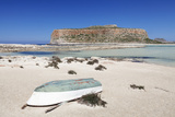 Balos Bay and Beach, Gramvousa Peninsula, Crete, Greek Islands, Greece, Europe Photographic Print by Markus Lange