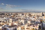 Julian Elliott - The Rooftops of Valencia in Spain, Europe Fotografická reprodukce