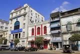 Pansodan Street, Yangon (Rangoon), Myanmar (Burma), Asia Photographic Print by Richard Cummins