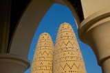 Pigeon Tower, Katara Cultural Village, Doha, Qatar, Middle East Photographic Print by Frank Fell