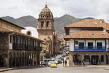 View over Convento Y Templo La Merced Church, Cuzco, Peru, South America Photographic Print by Yadid Levy