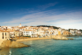 Costa Brava White Town with Beach. Photographic Print by Artur Debat